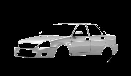 Цвета кузова Lada Priora 2170
