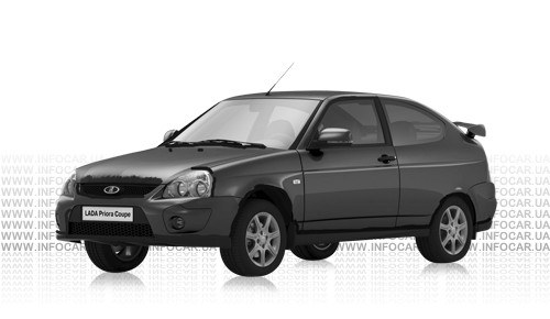 Цвета Lada Priora 2172 Coupe